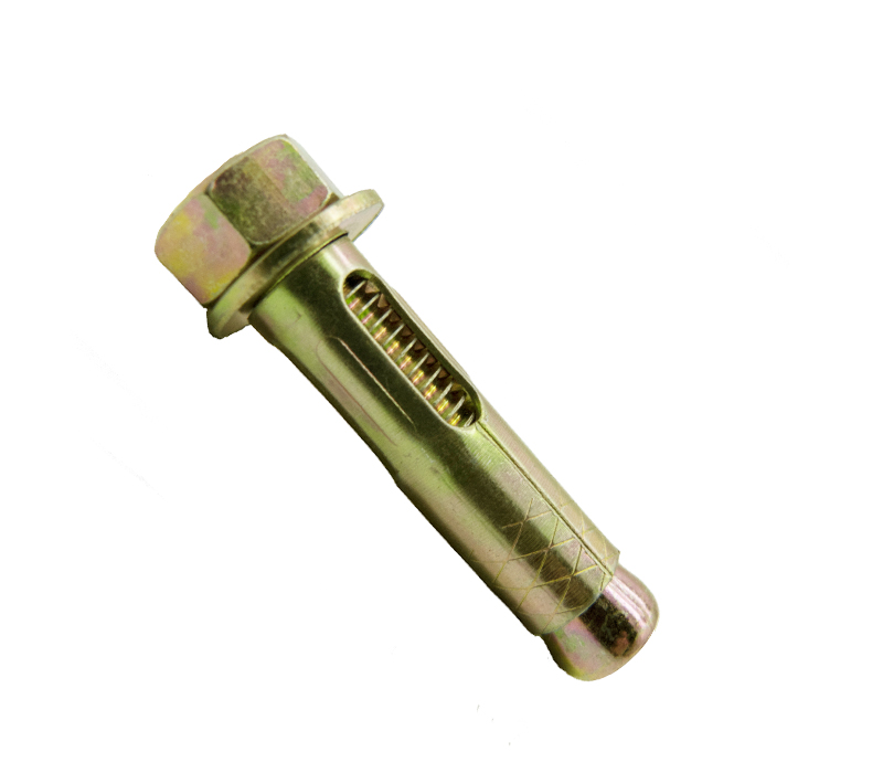Yellow Zinc Hex Nut Sleeve Anchor